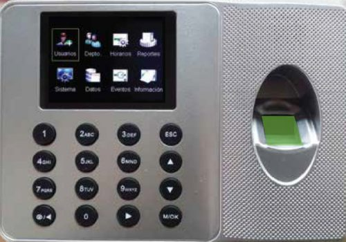 Reloj Biometrico UA-100